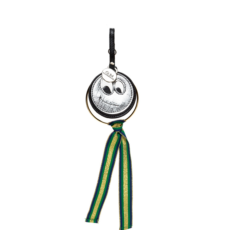 GUM KEY RING WITH SMILE