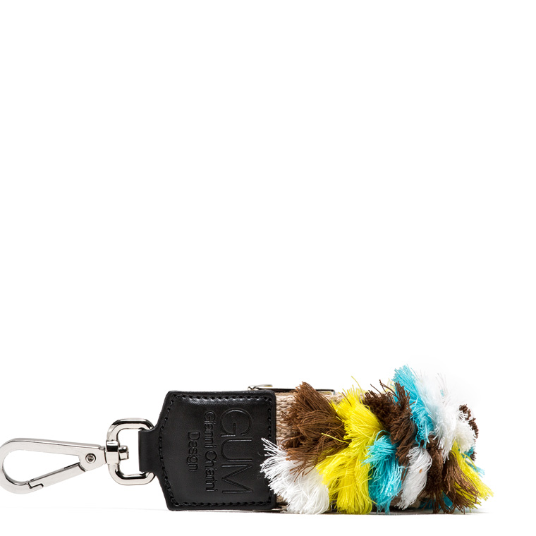 GUM FIXED-SIZE SHOULDER STRAP WITH TASSELS