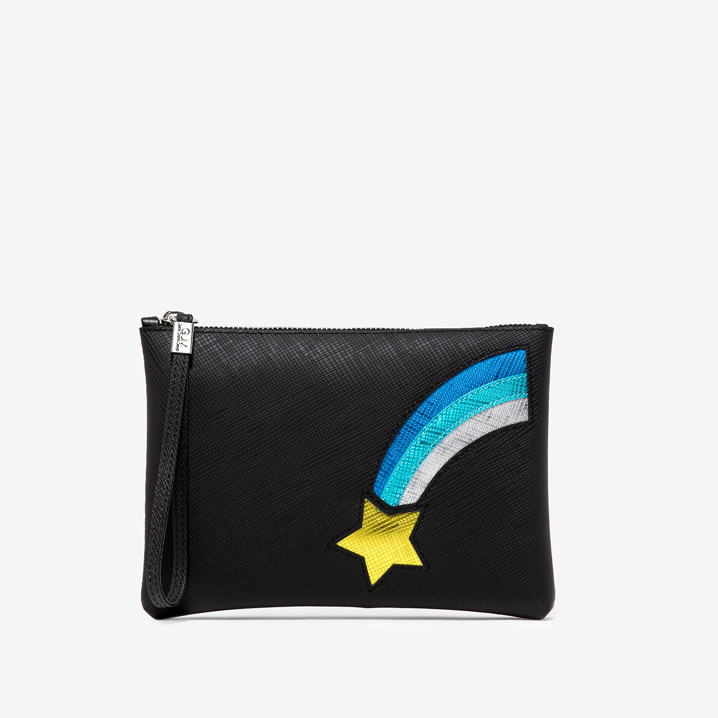 GUM: NUMBERS CLUTCH BAG MEDIUM