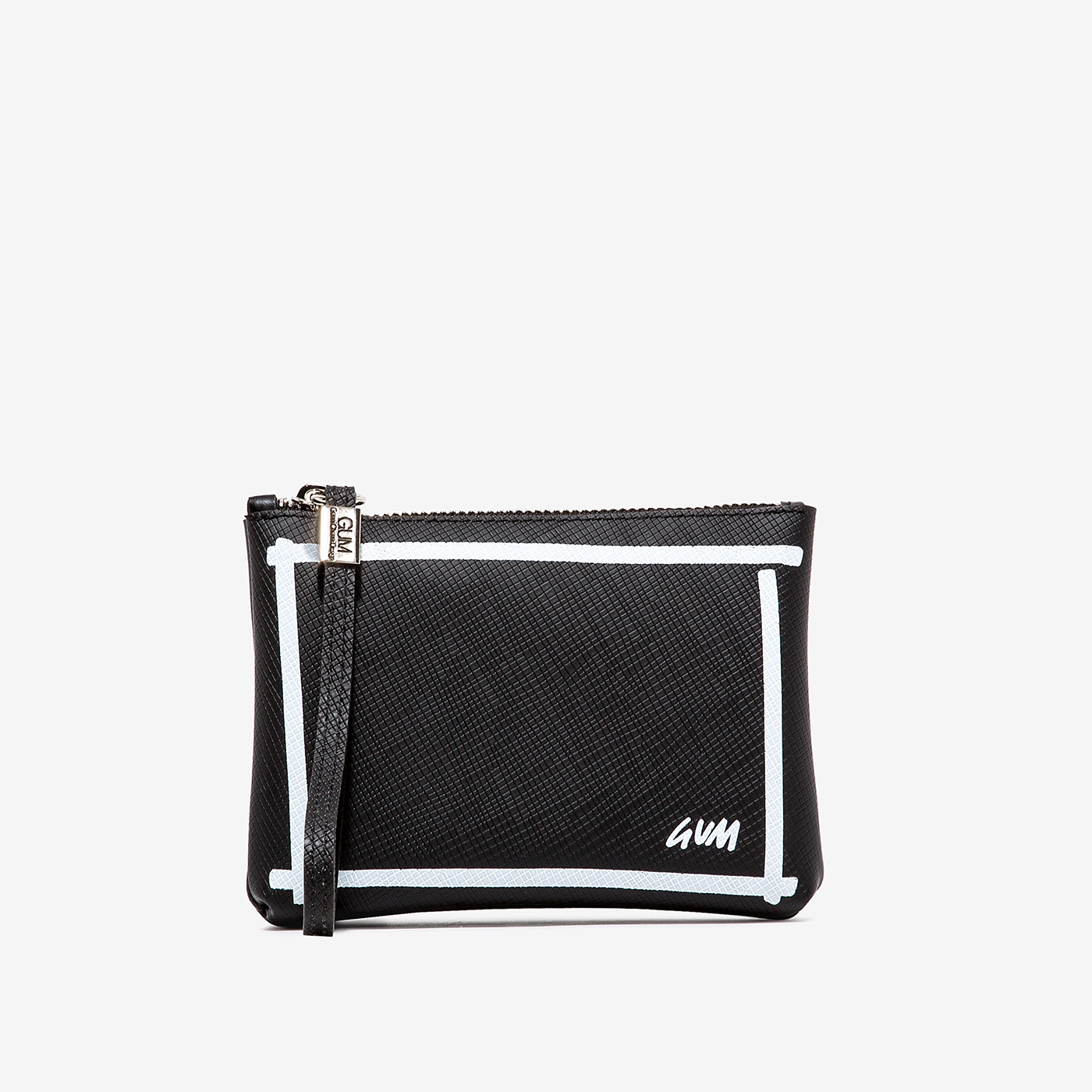 GUM: NUMBERS CLUTCH BAG SMALL