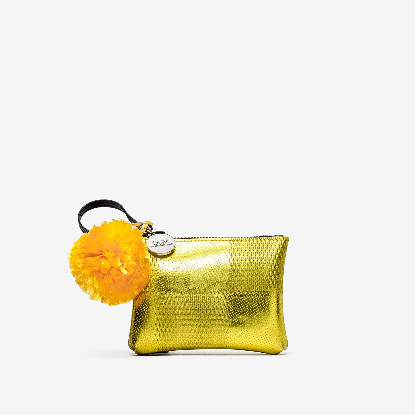 GUM: CLUTCH BAG KEYRING WITH STARS