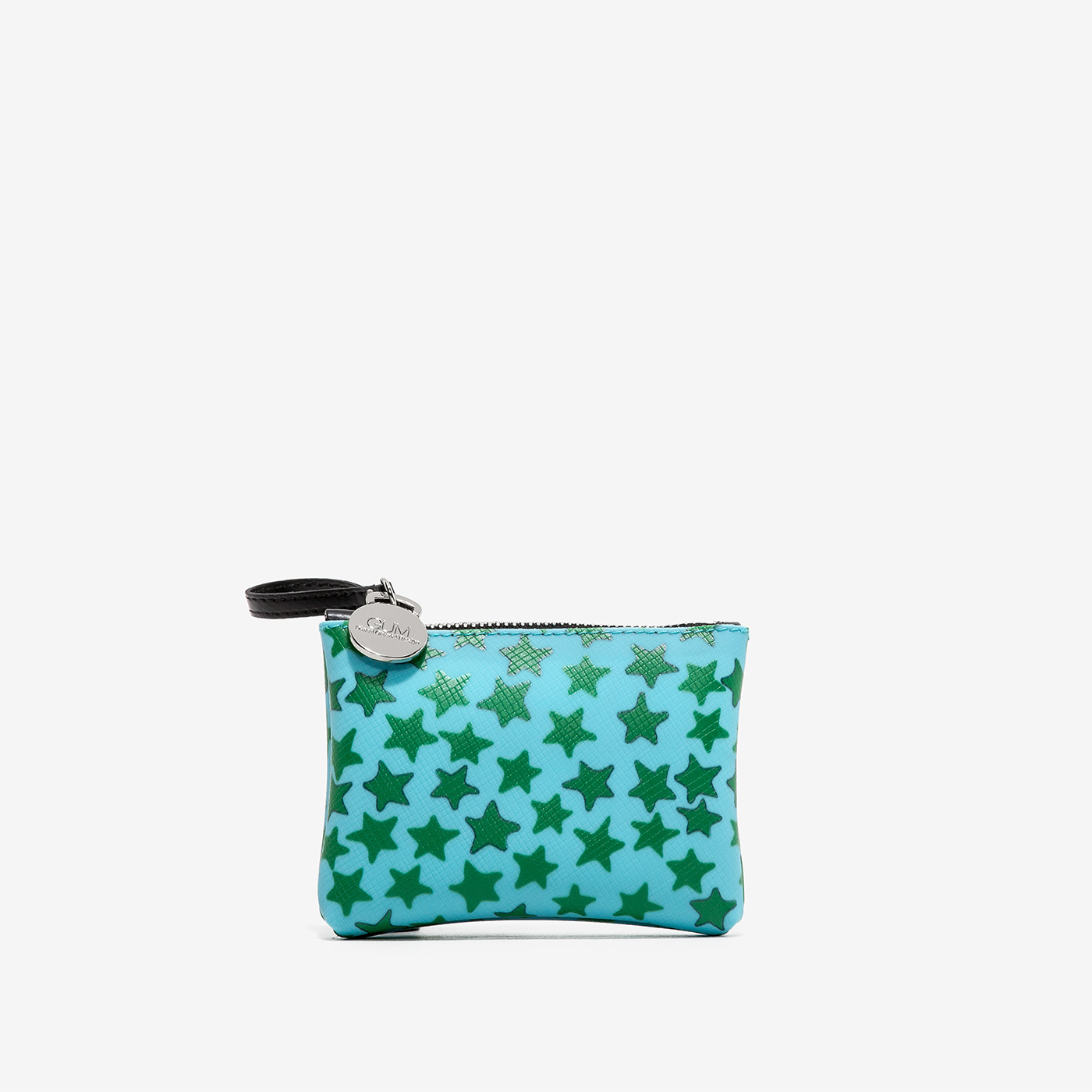 GUM: CLUTCH BAG KEYRING WITH STARS