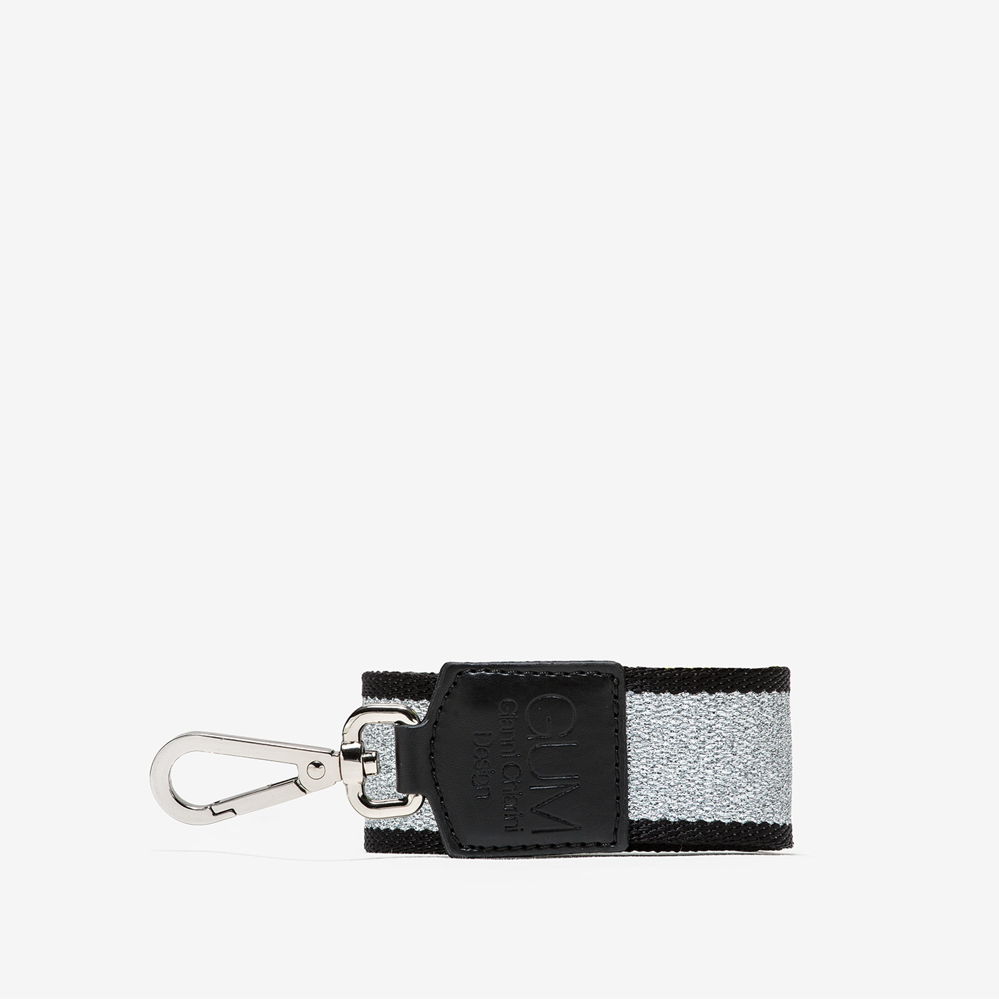 GUM: FIXED-SIZE SHOULDER STRAP WITH LUREX