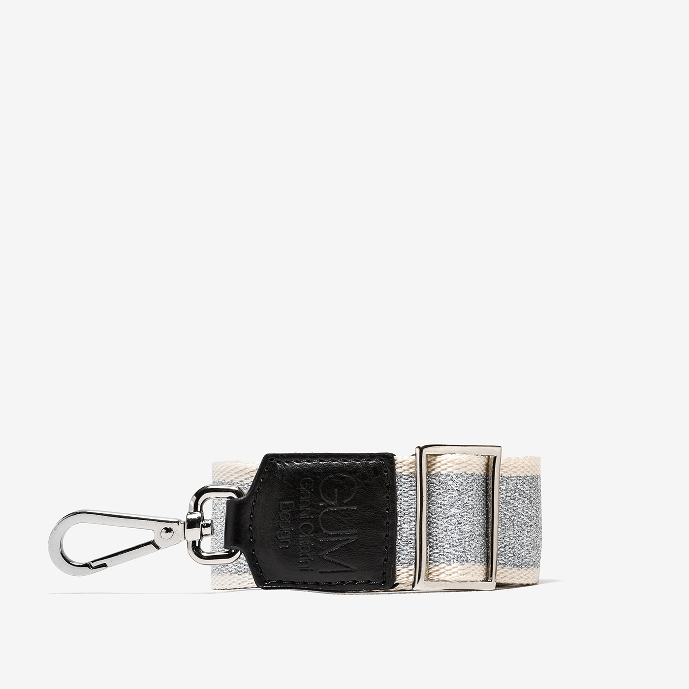 GUM: ADJUSTABLE SHOULDER STRAP WITH CHECK PATTERN