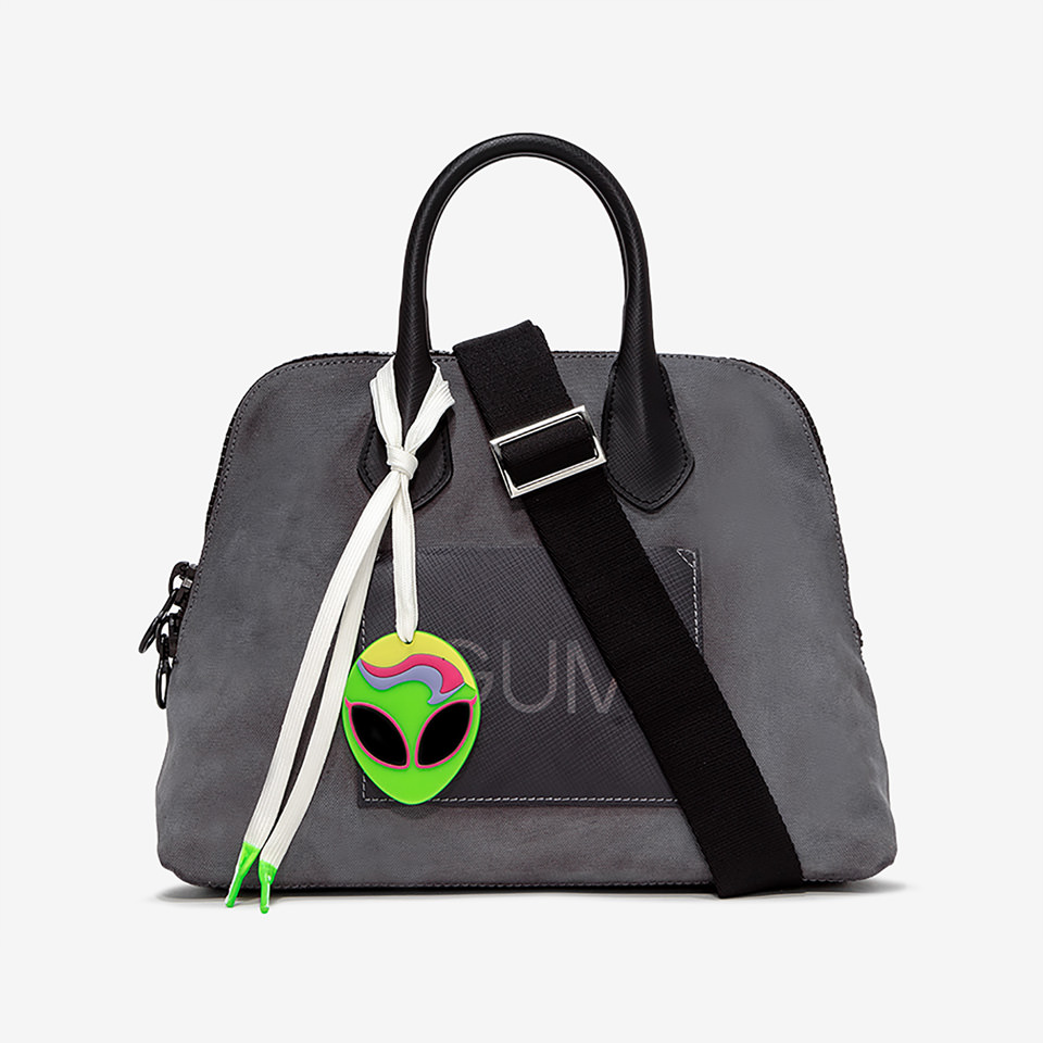 GUM: MEDIUM CANVAS HANDBAG