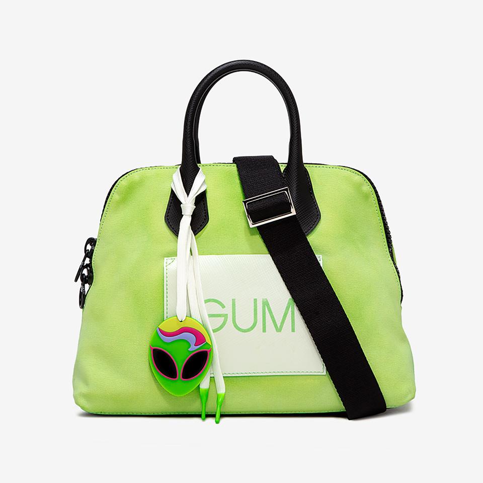 GUM: MEDIUM CANVAS HAND BAG