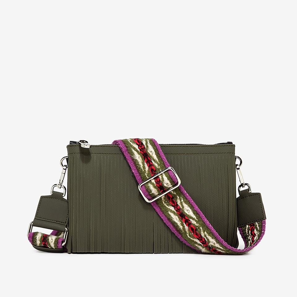 GUM: SMALL SIZE NUMBERS NOMADS CROSS-BODY BAG