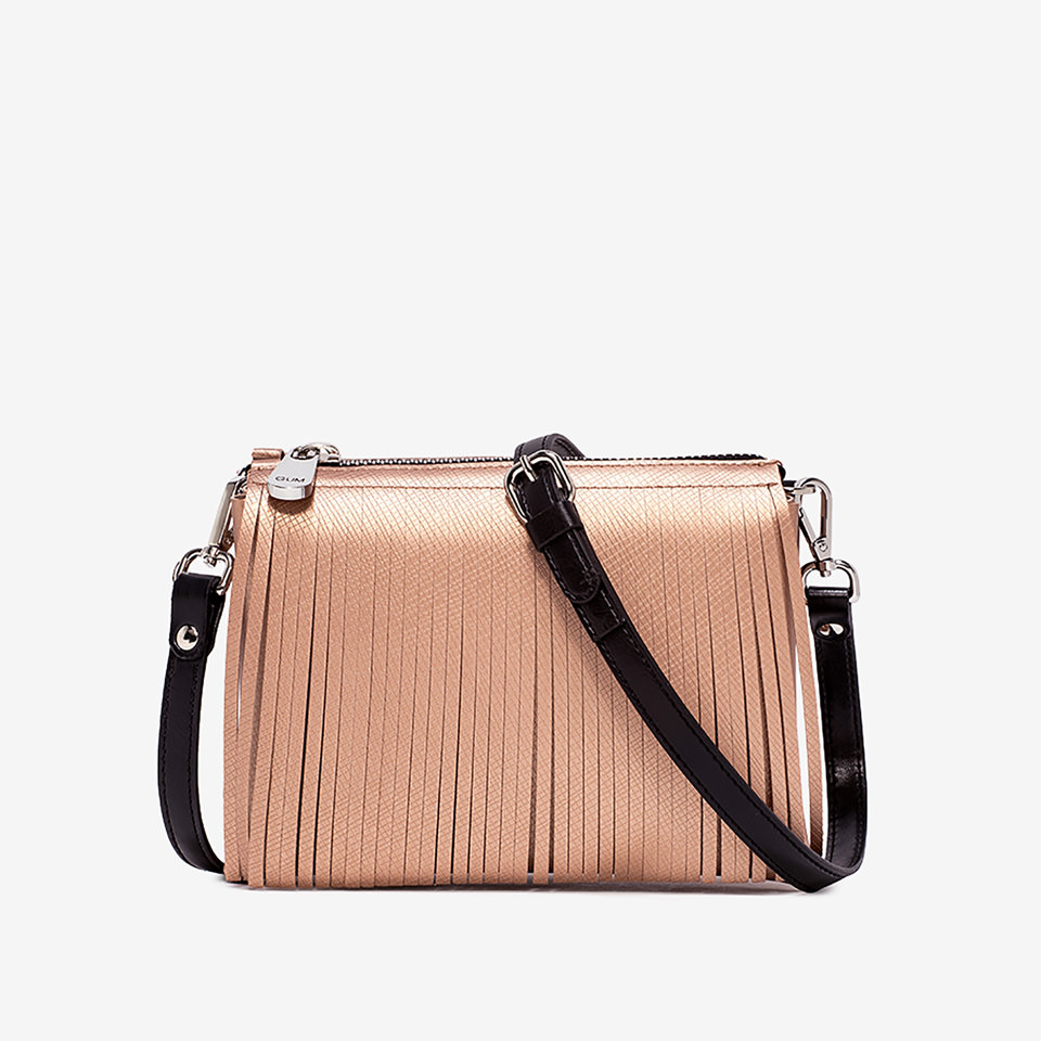 GUM: MEDIUM-SIZE TWO SHOULDER BAG