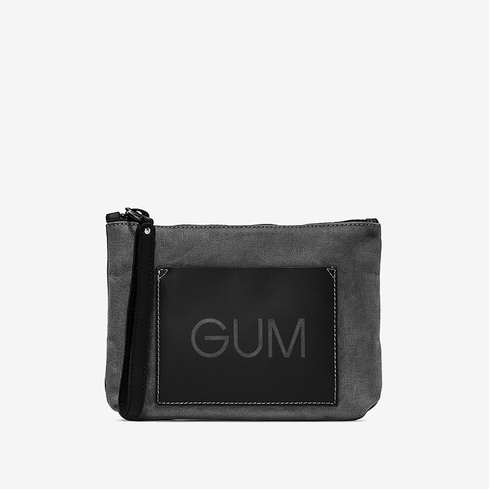 GUM: MEDIUM SIZE BURNINGCOLORS CLUTCH BAG