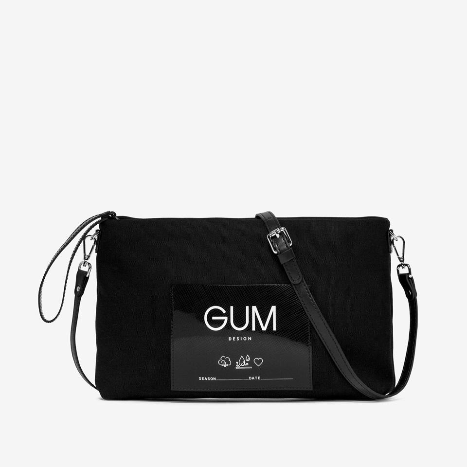 GUM: CANVAS MEDIUM CLUTCH BAG