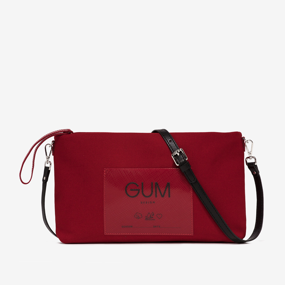 GUM: CANVAS MEDIUM CLUTCH BAG