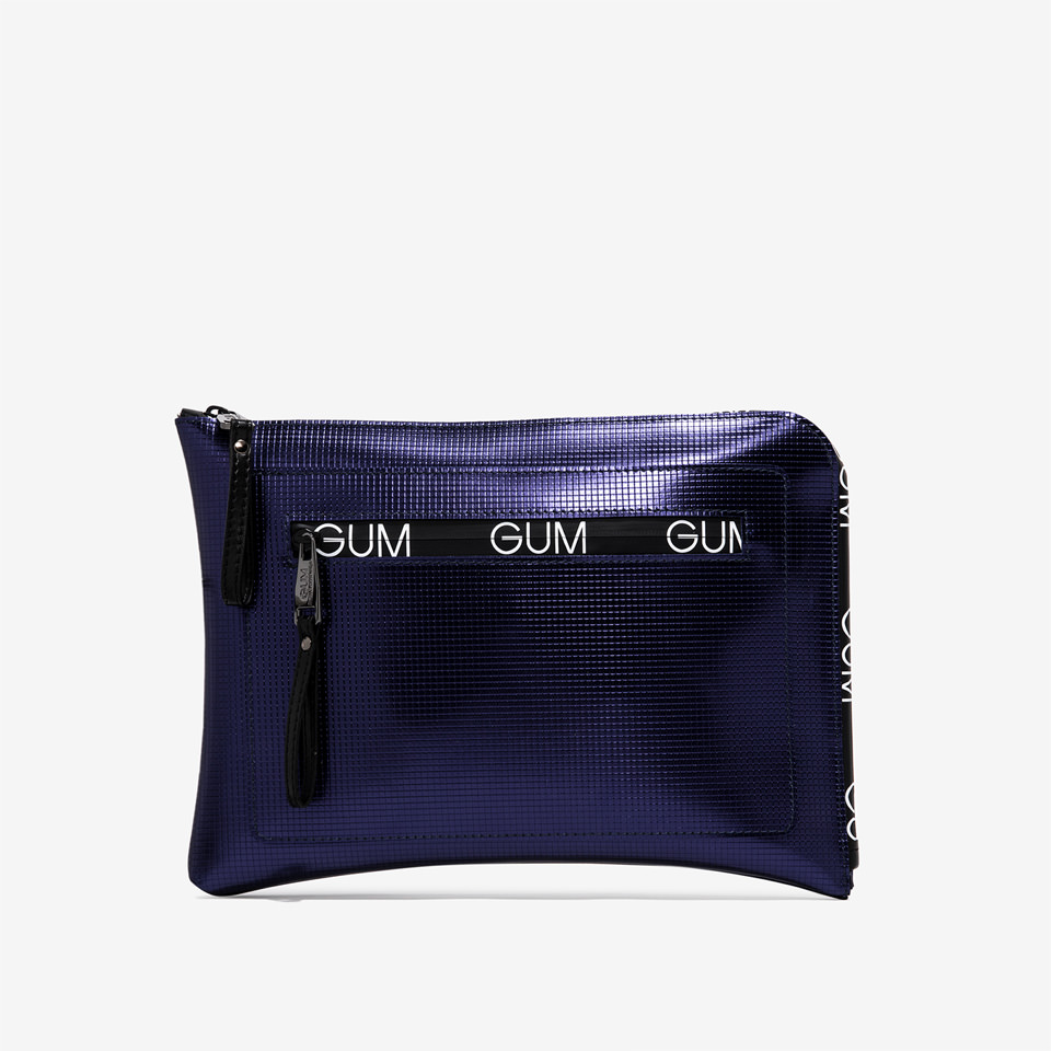 GUM: BIT LOGO PATTERN MEDIUM SIZE CLUTCH