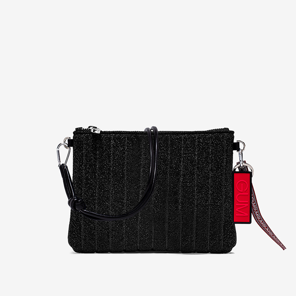 GUM: MEDIUM SIZE STARDUST CLUTCH BAG