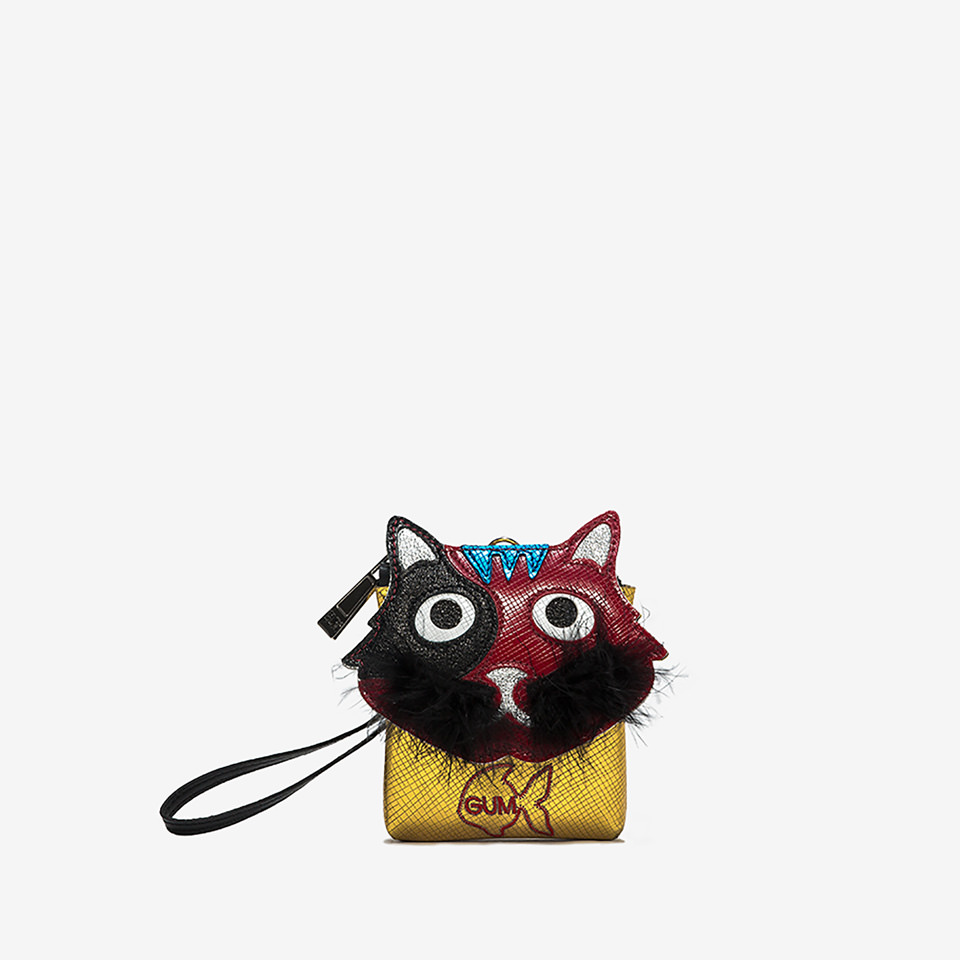 GUM: CLUTCH KEY RING WITH CAT