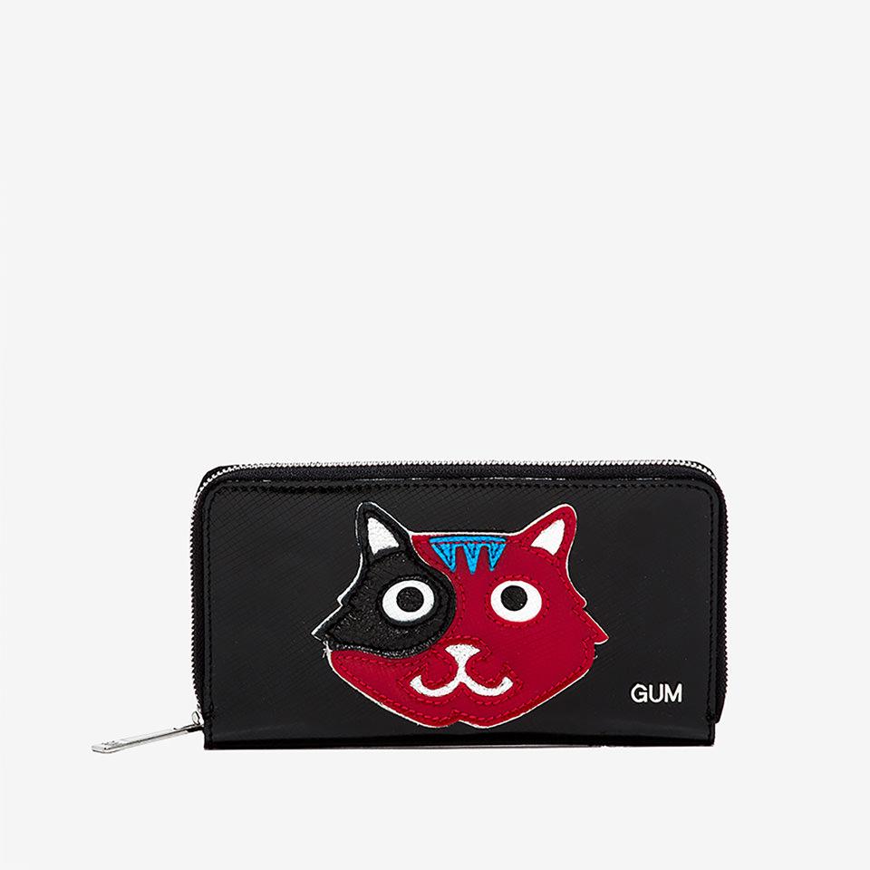 GUM: LARGE WALLET ANIMALS CAT