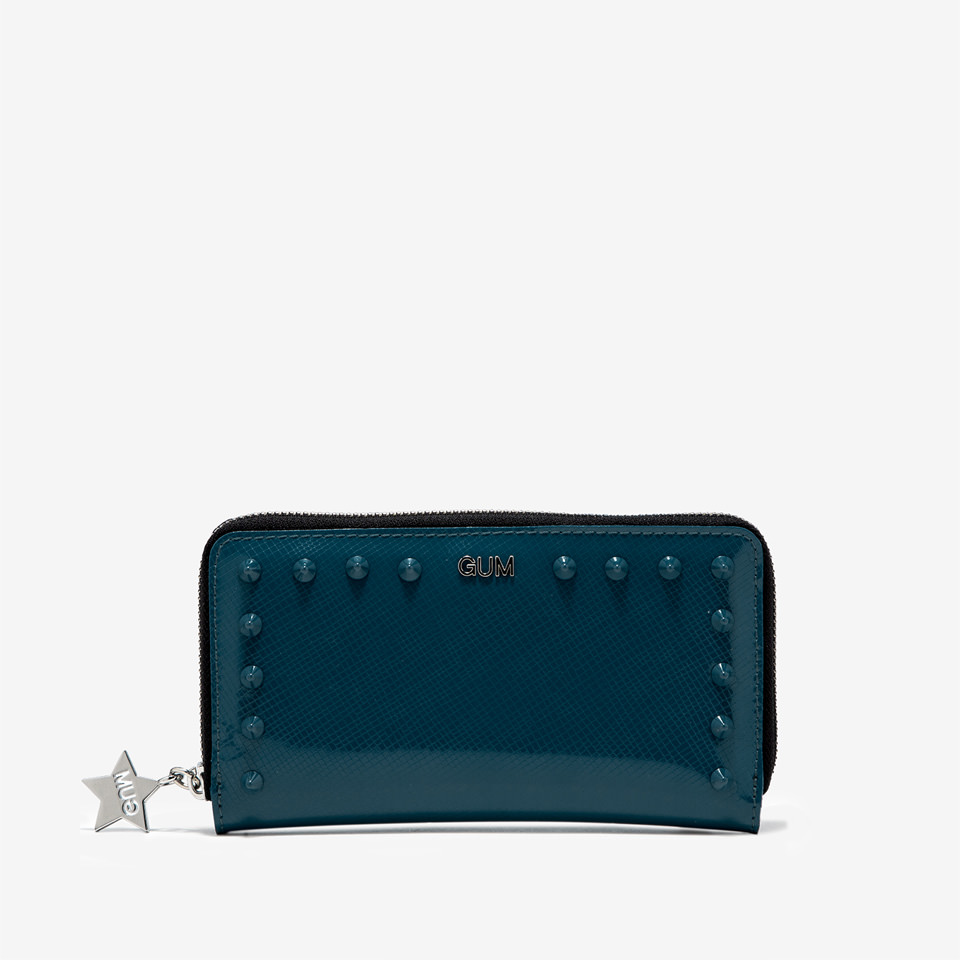 GUM: MEDIUM WALLET GLOSSY STUDS