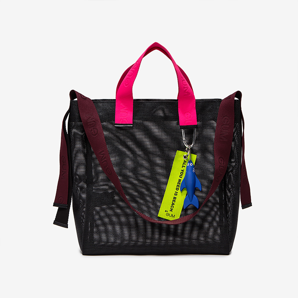 GUM: MEDIUM SIZE ALL YOU NEED IS BEACH SHOPPER BAG