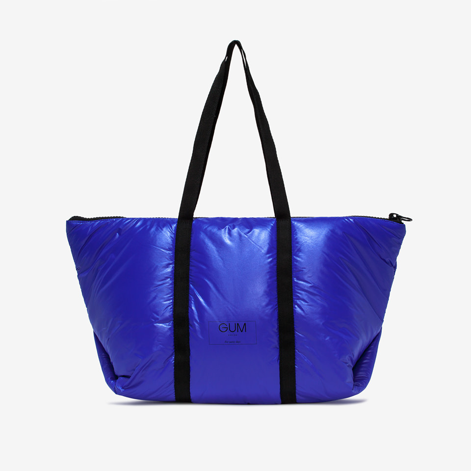 GUM: LARGE SEASONLESS SHOPPER WITH RAINPROOF COVER