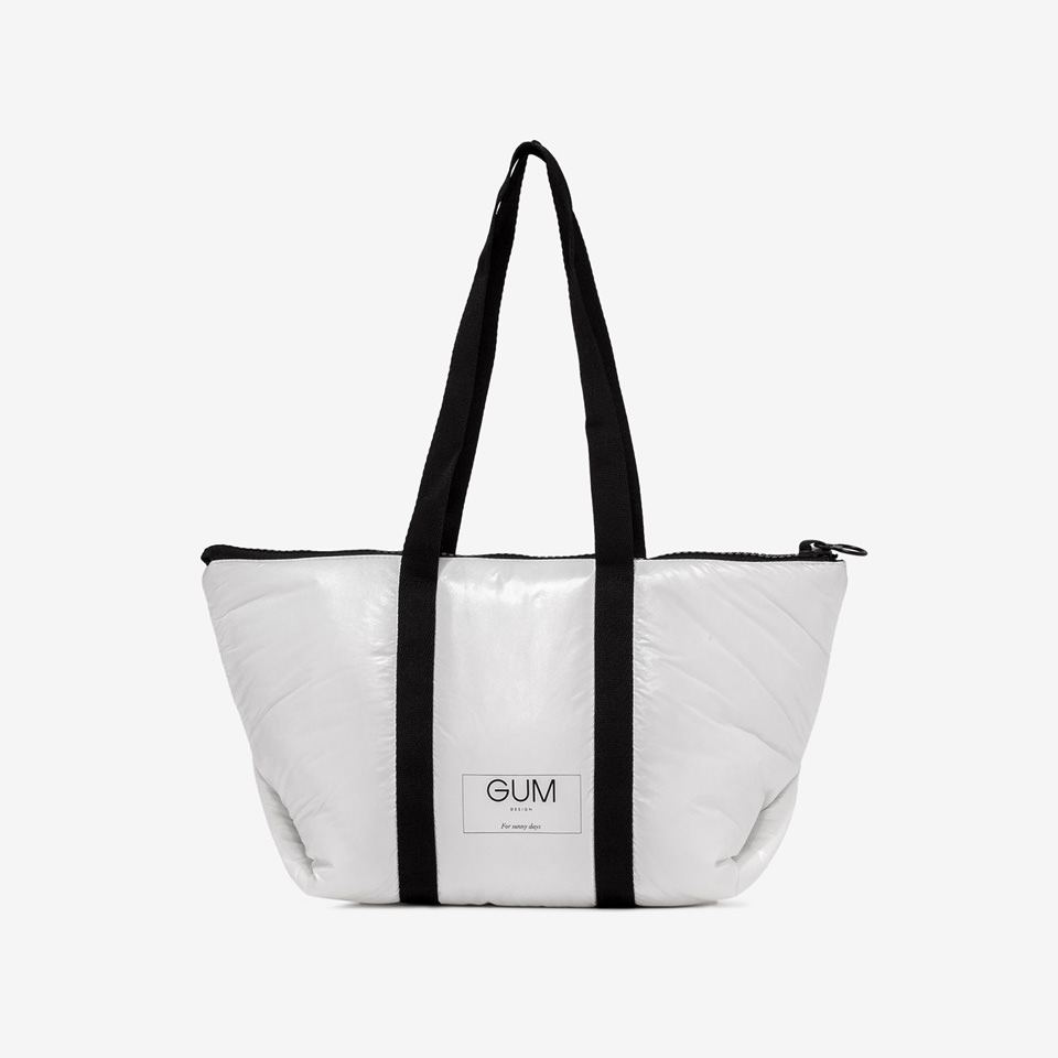 GUM: MEDIUM SEASONLESS SHOPPER WITH RAINPROOF COVER
