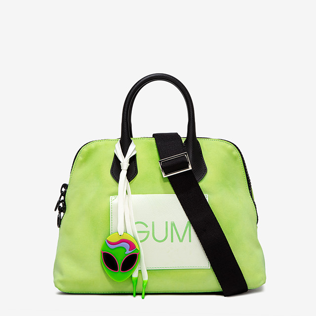 GUM MEDIUM CANVAS HAND BAG