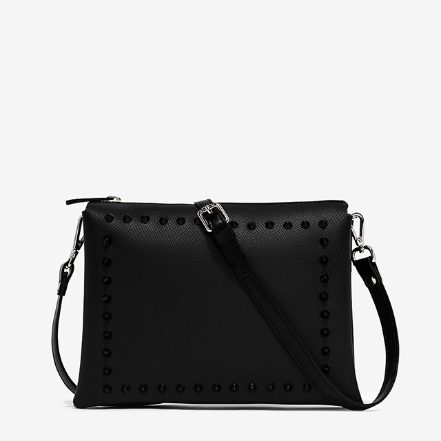 GUM TWO LARGE-SIZE SHOULDER BAG