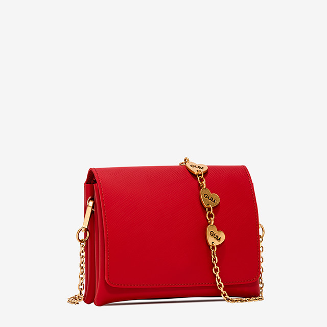 GUM: MEDIUM-SIZE TWO CROSS-BODY BAG