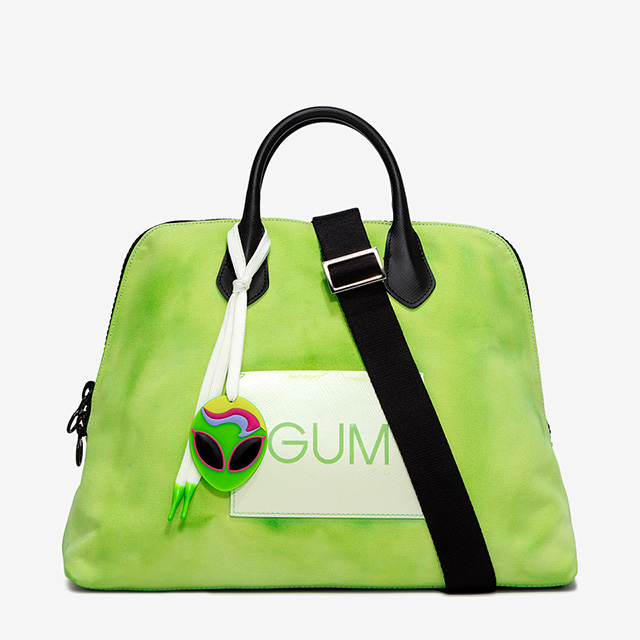 GUM: LARGE SIZE CANVAS HAND BAG