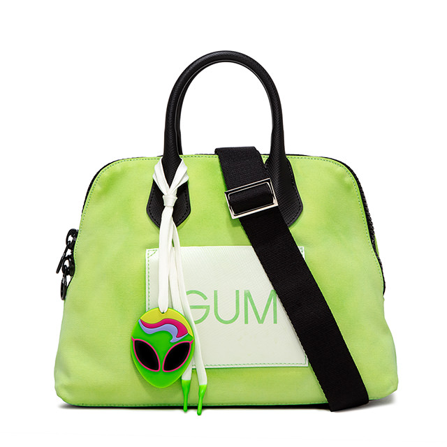GUM: MEDIUM CANVAS HAND BAG