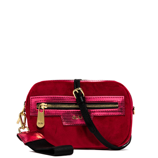 GUM SHOULDER BAG WITH SIDE HANDLE