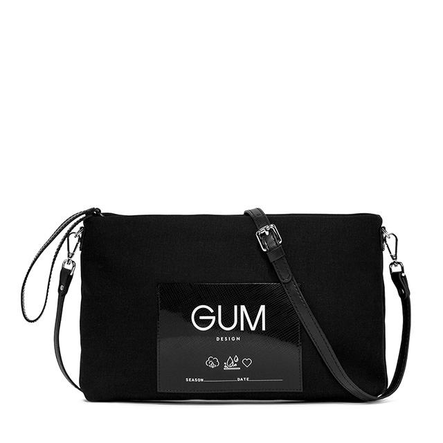 GUM CANVAS MEDIUM CLUTCH BAG