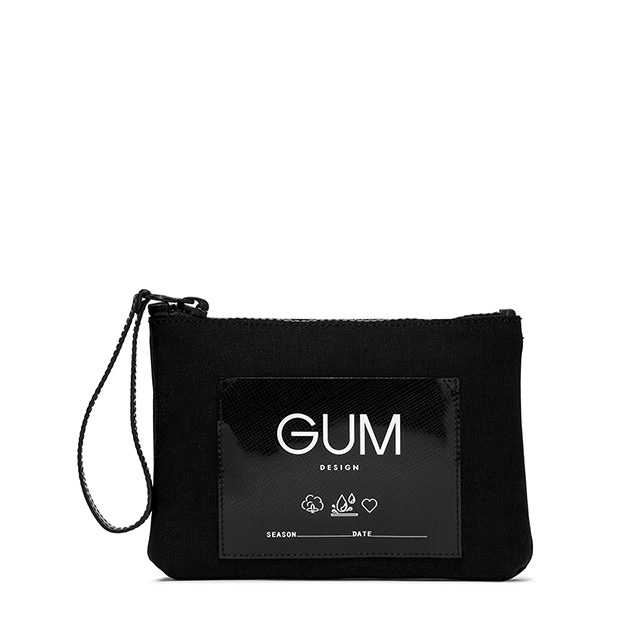 GUM CANVAS SMALL CLUTCH BAG