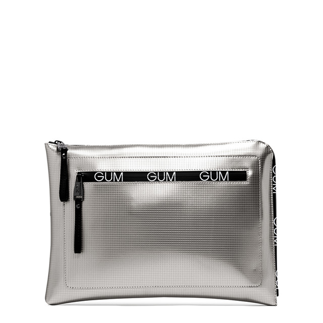GUM: BIT LOGO PATTERN LARGE SIZE CLUTCH