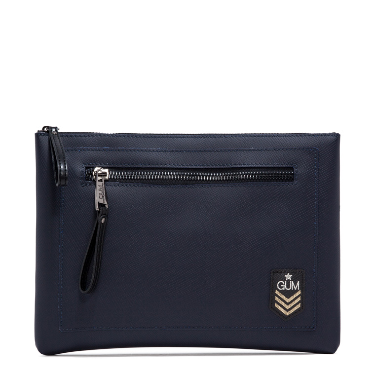 GUM MILITARY PATTERN MAXI CLUTCH BAG