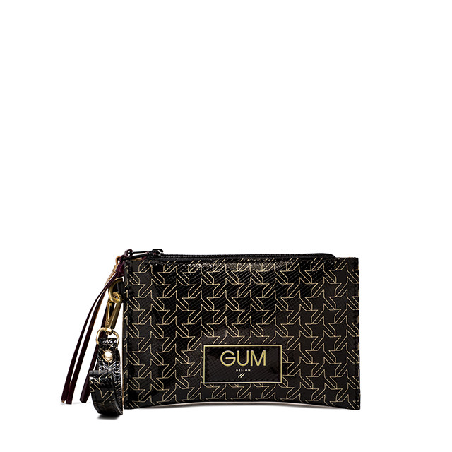 GUM SMALL MULTIPRINT CLUTCH BAG