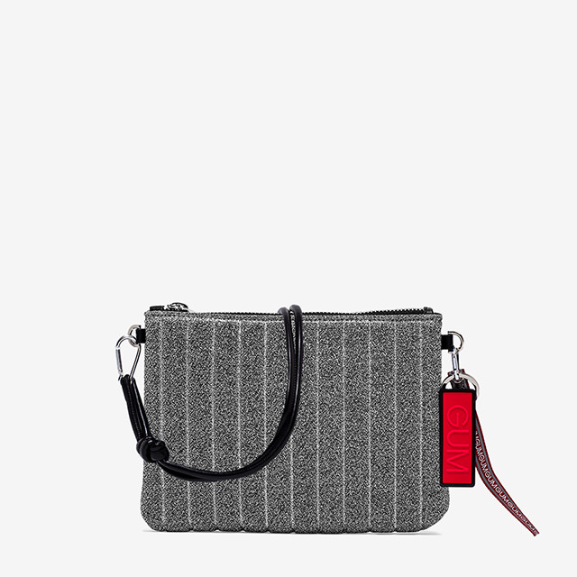 GUM MEDIUM SIZE STARDUST CLUTCH BAG