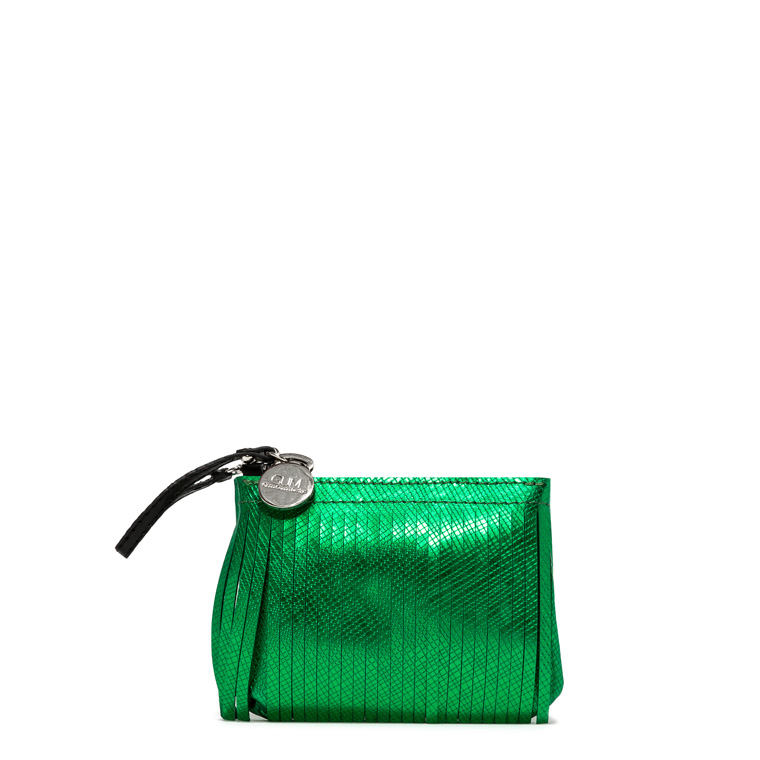 GUM MINI CLUTCH KEYRING WITH FRINGES