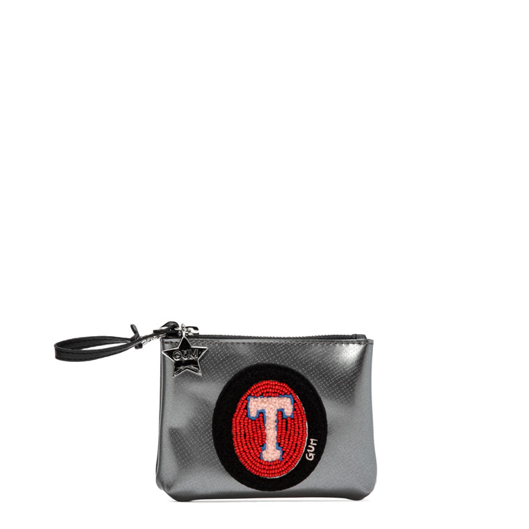 GUM: CLUTCH KEYRING WITH LETTER