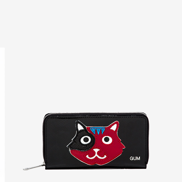GUM LARGE WALLET ANIMALS CAT