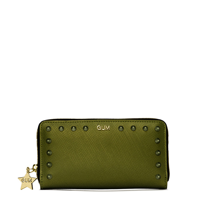 GUM MEDIUM SIZE COLORSTUD WALLET