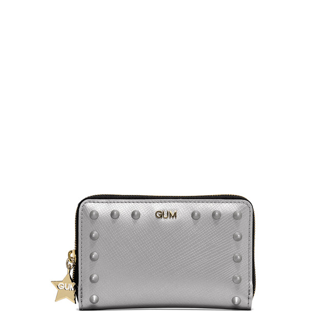 GUM SMALL SIZE SATIN STUD WALLET