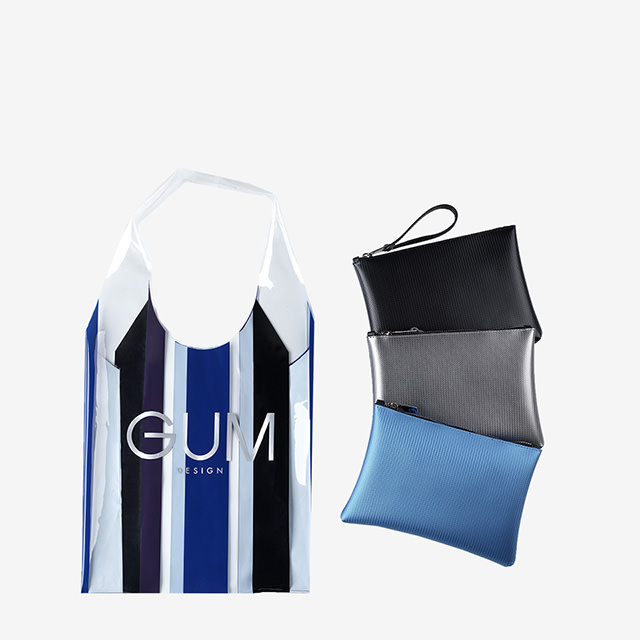 GUM SHOPPER LIMITED EDITION STRIPE GLAM