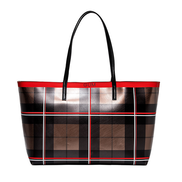 GUM TARTAN SHOPPER BAG
