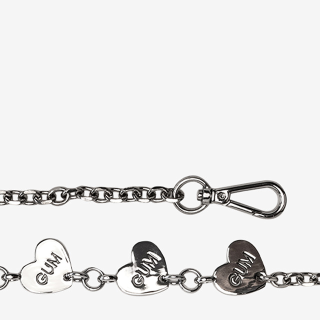 GUM: HEART CHAIN FIXED SHOULDER STRAP