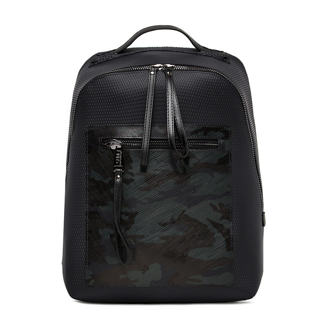 GUM CAMO MESH PATTERN BACKPACK
