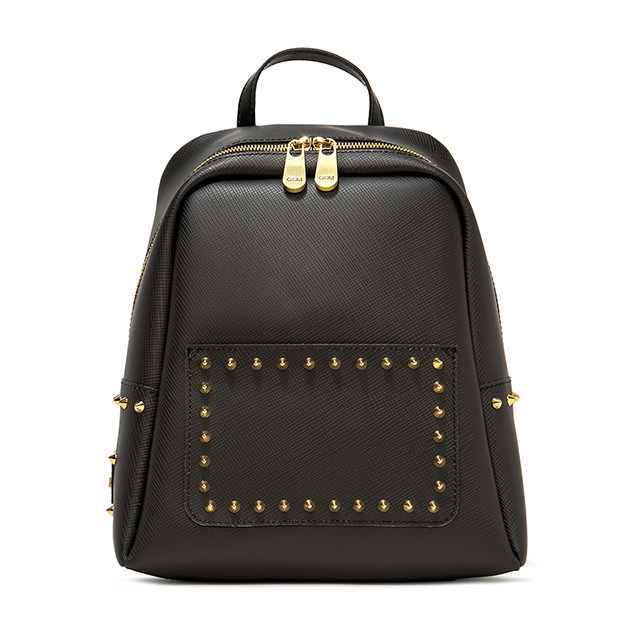 GUM MEDIUM SIZE SATIN STUD BACKPACK
