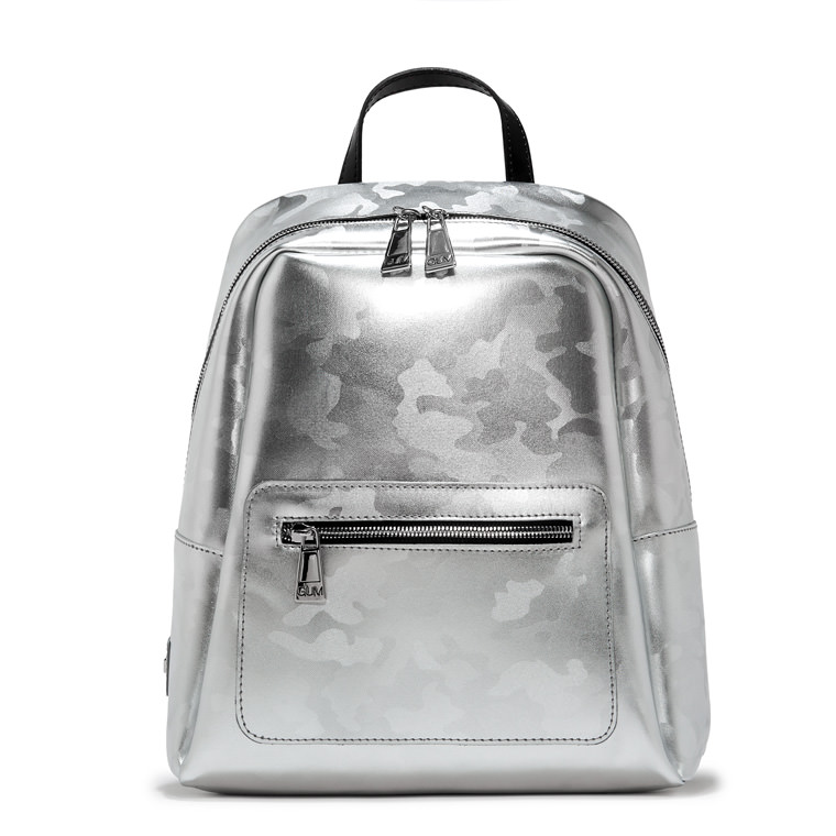 GUM LAMINATED CAMOUFLAGE NINE BACKPACK