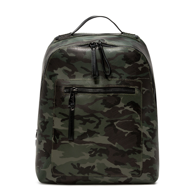 GUM CAMOUFLAGE PATTERN BACKPACK