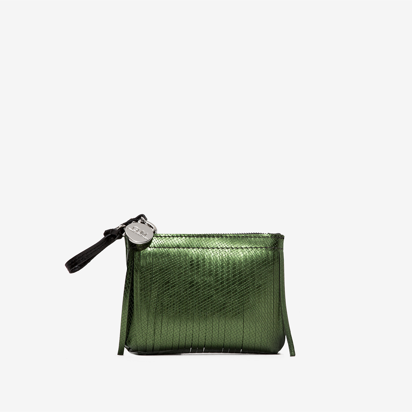 GUM: CLUTCH BAG KEYRING WITH FRINGES