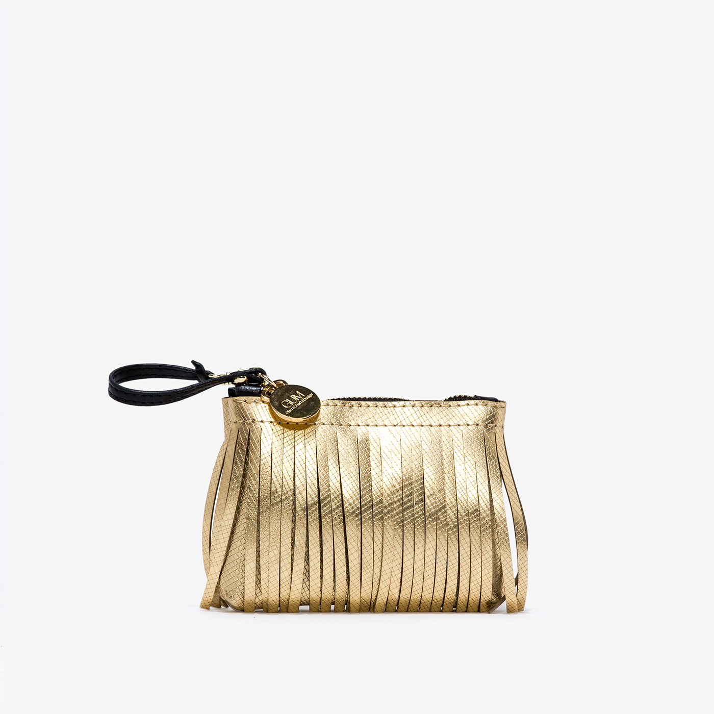 GUM: MINI CLUTCH KEYRING WITH FRINGES