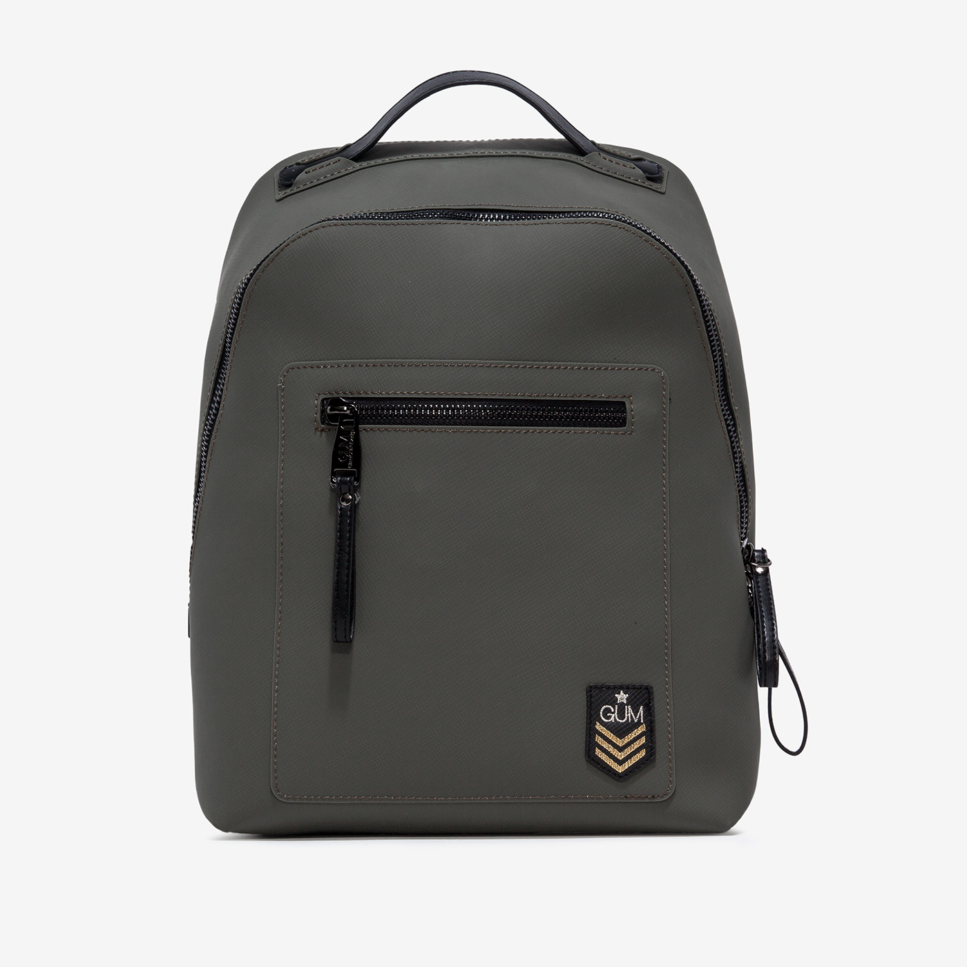 GUM: MILITARY PATTERN BACKPACK